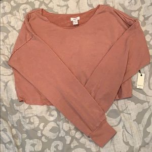 French Terry Crop Top